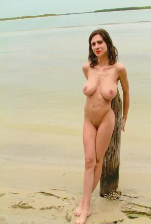 Huge Tits Beach